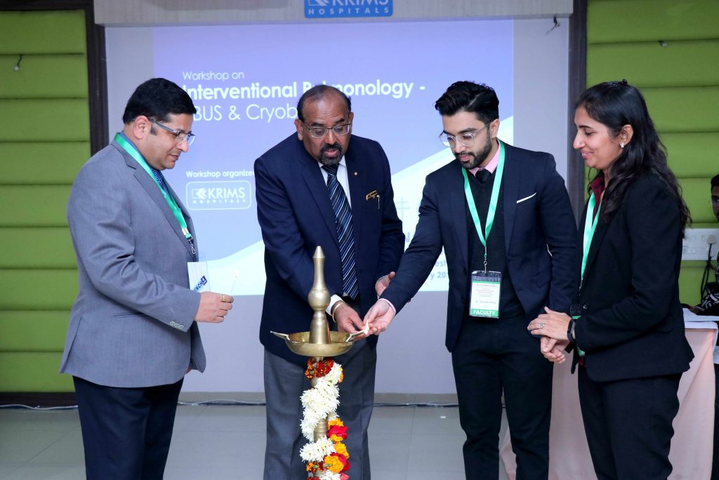 NATCON Workshop on Interventional Pulmonology conducted at KRIMS Hospitals